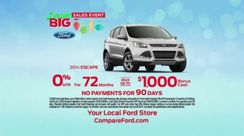 Ford Dream Big Sales Event TV Spot, 'Cool Features' - Thumbnail 5