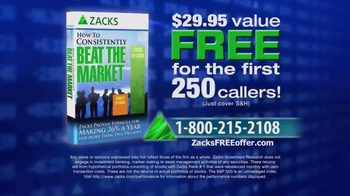 Zacks Investment Research TV Spot, 'How to Consistently Beat the Market' - Thumbnail 10
