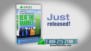 Zacks Investment Research TV Spot, 'How to Consistently Beat the Market' - Thumbnail 4