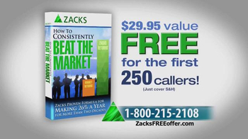 Zacks Investment Research TV Spot, 'How to Consistently Beat the Market' - Thumbnail 5