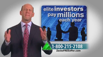 Zacks Investment Research TV Spot, 'How to Consistently Beat the Market' - Thumbnail 6
