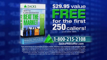 Zacks Investment Research TV Spot, 'How to Consistently Beat the Market' - Thumbnail 8