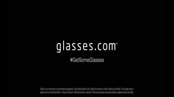 Glasses.com TV Spot, '#GetSomeGlasses Refs: Laughing' - Thumbnail 10