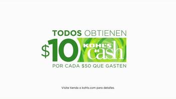 Kohl's TV Spot, 'Grandes Regalos de Vacaciones' [Spanish] - Thumbnail 8