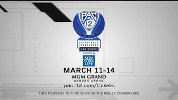 PAC-12 Conference Las Vegas Basketball Tournament TV Spot - Thumbnail 10