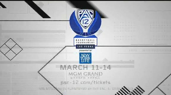 PAC-12 Conference Las Vegas Basketball Tournament TV Spot - Thumbnail 9