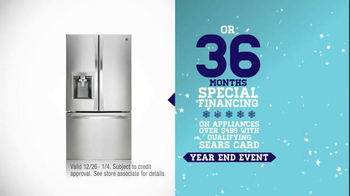 Sears Year End Event TV Spot, 'Welcome Bigger Savings' - Thumbnail 7