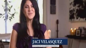 Liberty University TV Spot Con Jaci Velasquez [Spanish] - Thumbnail 1