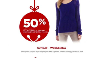 JCPenney Wrap Up the Jingle Sale TV Spot, 'Gifts for Everyone' - Thumbnail 6