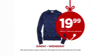 JCPenney Wrap Up the Jingle Sale TV Spot, 'Gifts for Everyone' - Thumbnail 8