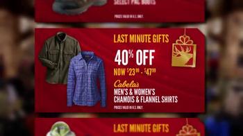 Cabela's Christmas Sale TV Spot, 'Cabela's Bucks' - Thumbnail 6