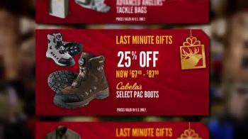 Cabela's Christmas Sale TV Spot, 'Cabela's Bucks' - Thumbnail 8