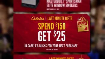 Cabela's Christmas Sale TV Spot, 'Cabela's Bucks' - Thumbnail 9