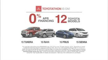 Toyota Toyotathon TV Spot, 'Traffic Director' - Thumbnail 8
