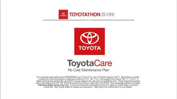 Toyota Toyotathon TV Spot, 'Traffic Director' - Thumbnail 9