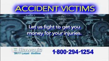 iLawsuit Legal Hotline TV Spot, 'Accident Victims'
