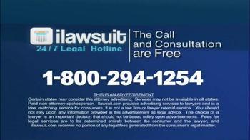 iLawsuit Legal Hotline TV Spot, 'Accident Victims' - Thumbnail 10