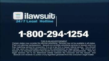 iLawsuit Legal Hotline TV Spot, 'Accident Victims' - Thumbnail 9