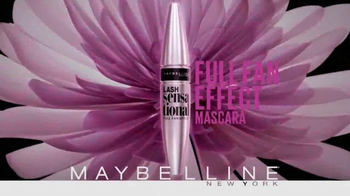 Maybelline New York Lash Sensational Mascara TV Spot, 'Full Fan Effect' - Thumbnail 10