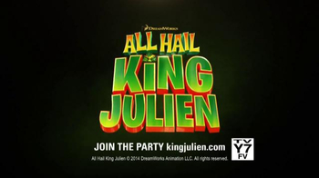 Netflix TV Spot, 'All Hail King Julien'