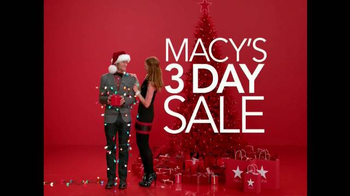 Macy's Three Day Sale TV Spot, 'Check off Your List' - Thumbnail 2