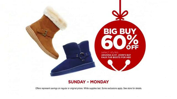 JCPenny Great Big Christmas Sale TV Spot, 'Big Buys' - Thumbnail 5