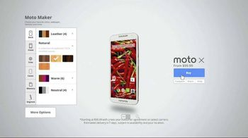 Moto X TV Spot, 'Built by You'