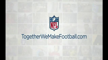 NFL Together We Make Football TV Spot, 'No Story Without Football' - Thumbnail 7