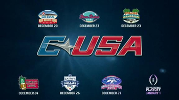 Conference USA TV Spot, 'Bowl Game Destinations' - Thumbnail 8