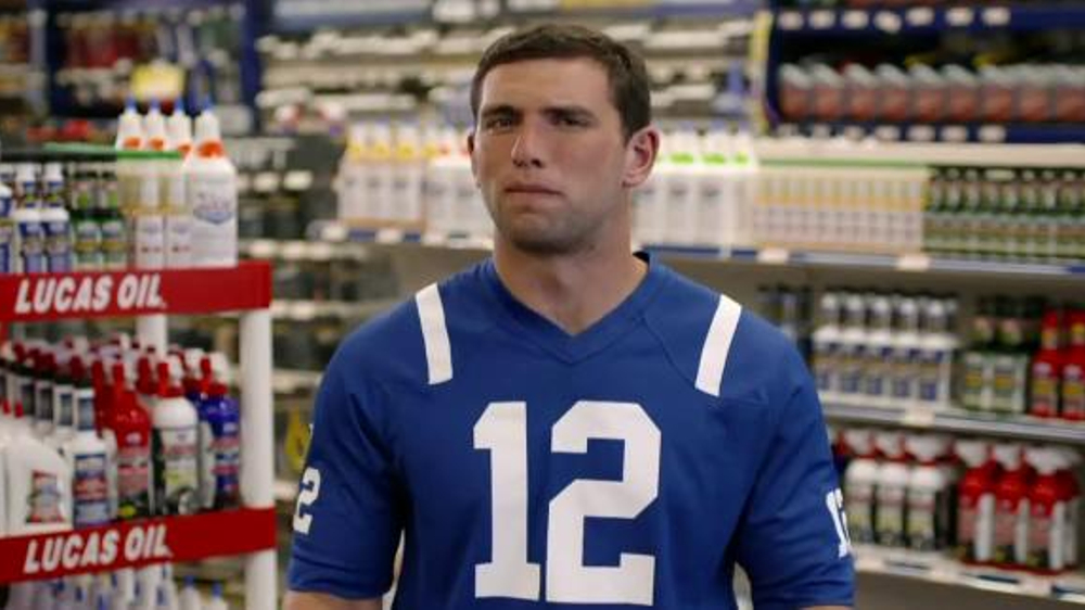 Lucas Oil TV Commercial Featuring Andrew Luck