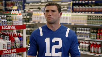 Lucas Oil TV Spot Featuring Andrew Luck - Thumbnail 4