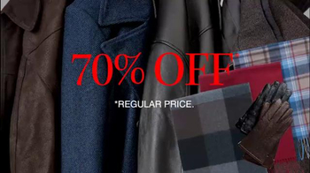 JoS. A. Bank TV Spot, 'December: Up to 75% Off Outerwear' - Thumbnail 7