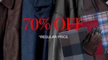 JoS. A. Bank TV Spot, 'December: Up to 75% Off Outerwear' - Thumbnail 8