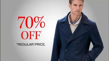 JoS. A. Bank TV Spot, 'December: Up to 75% Off Outerwear' - Thumbnail 9