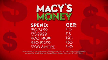 Macy's Money TV Spot, 'The More You Buy The More You Get' - Thumbnail 5