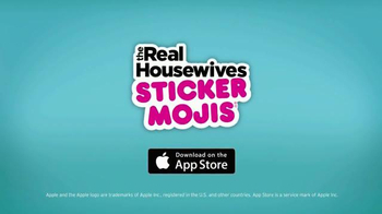 The Real Housewives Stickermojis App TV Spot - Thumbnail 7