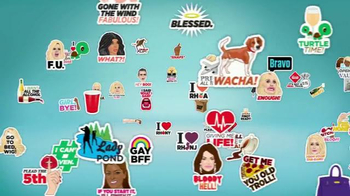 The Real Housewives Stickermojis App TV Spot - Thumbnail 1