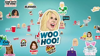 The Real Housewives Stickermojis App TV Spot