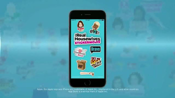 The Real Housewives Stickermojis App TV Spot - Thumbnail 4