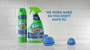 Scrubbing Bubbles TV Spot, 'Manscaping Husband' - Thumbnail 9
