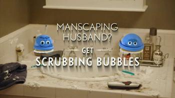Scrubbing Bubbles TV Spot, 'Manscaping Husband' - Thumbnail 5