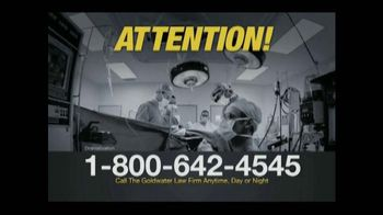 Goldwater Law Firm TV Spot, 'IVC Filter Warning' - Thumbnail 1