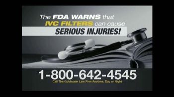 Goldwater Law Firm TV Spot, 'IVC Filter Warning' - Thumbnail 3
