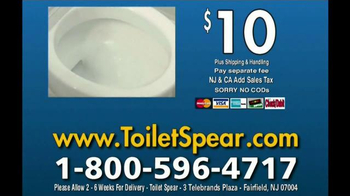 Toilet Spear TV Spot, 'Clean Your Whole Toilet' - Thumbnail 10