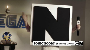 Sonic Boom: Shattered Crystal TV Spot, 'Cartoon Network' - Thumbnail 3