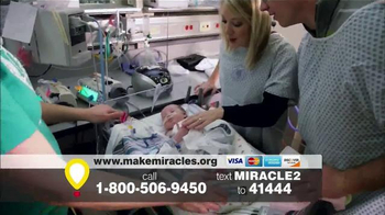 Children's Miracle Network Hospitals TV Spot, 'Research' Ft. John Schneider - Thumbnail 5