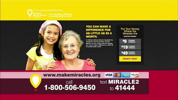 Children's Miracle Network Hospitals TV Spot, 'Research' Ft. John Schneider - Thumbnail 7