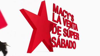 Macy's La Venta de Súper Sábado TV Spot, 'Viernes y Sábado' [Spanish] - Thumbnail 9