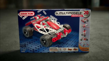 Erector 20 Multi-Model Set TV Spot, 'Infinite Possibilities' - Thumbnail 9