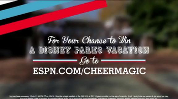 ESPN TV Spot, 'Cheer Magic Sweepstakes' - Thumbnail 10